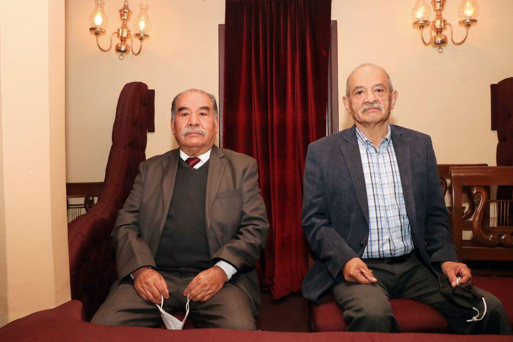 Ernesto García y José María Conde. FOTOS: ABRAHAM CABALLERO