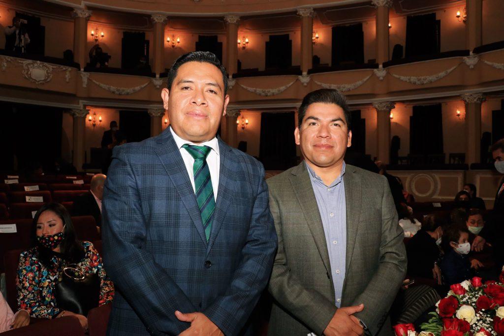 Omar Milton López y José Luis Garrido. FOTOS: ABRAHAM CABALLERO