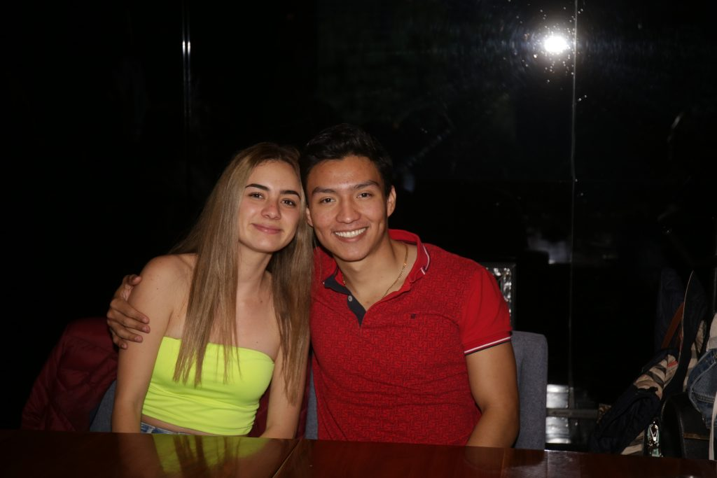 Pamela Rojas y Aron Osorio. Fotos: Daniela Portillo / Antonio Aparicio