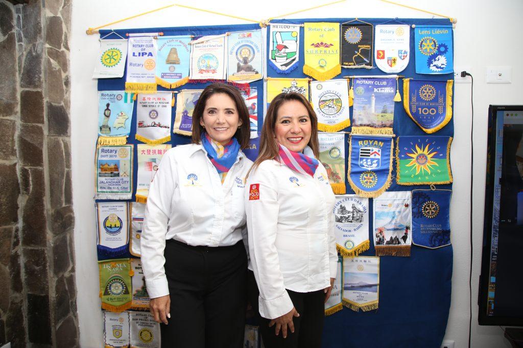 Adriana Medina y Fabiola Rosas. Fotos: Antonio Aparicio