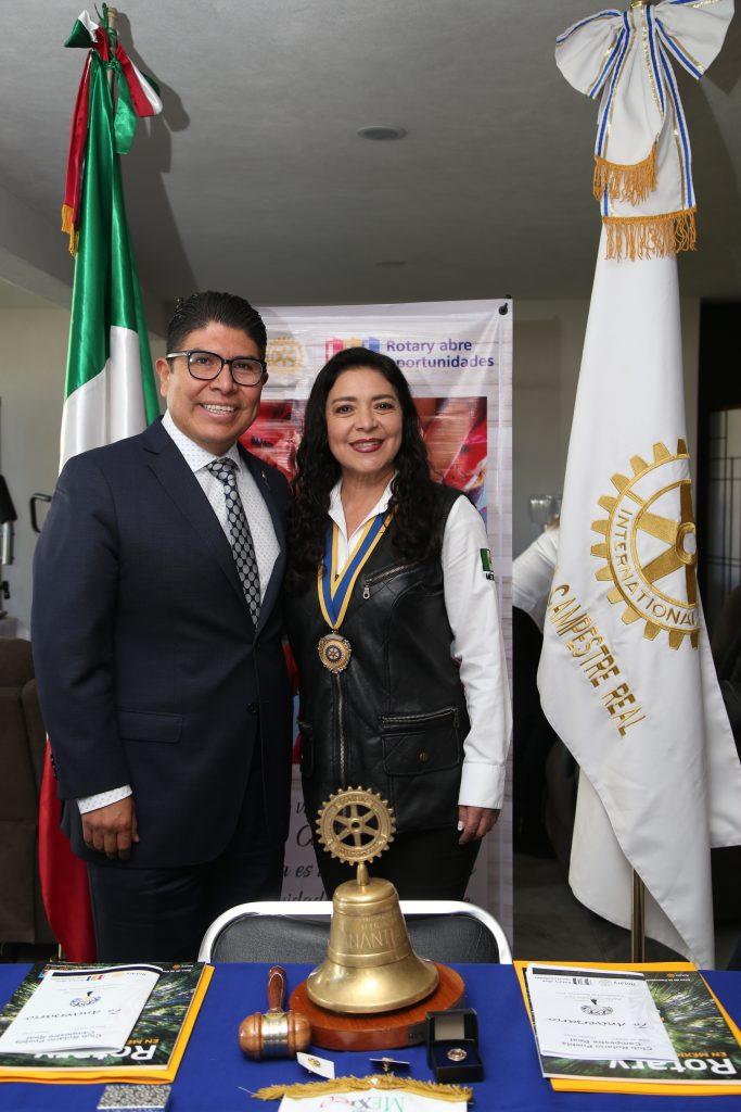 Sergio Cruz y Betthy Zapata. Fotos: Antonio Aparicio