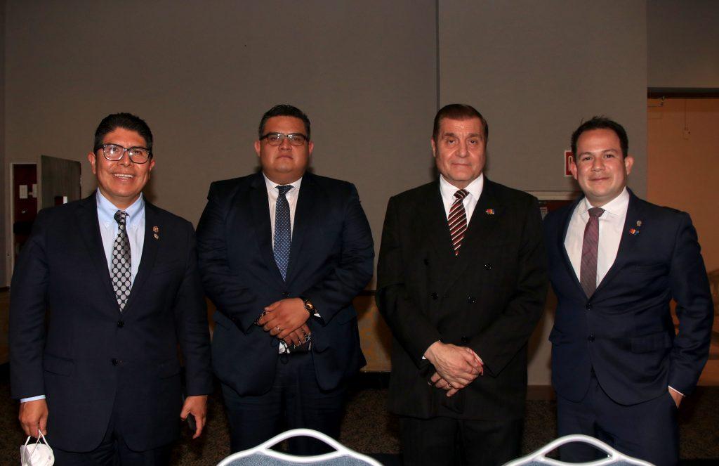 Sergio Cruz, Kristian Emmanuel De la Vara, Edgar Yamil y Edgar Manzano. Fotos: Antonio Aparicio