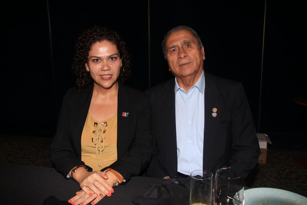 Blanca Chanes y Alfonso Chanes. Fotos: Antonio Aparicio