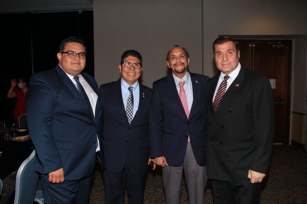 Kristian Emmanuel De la Vara, Sergio Cruz, José Luis Hernández y Edgar Yamil. Fotos: Antonio Aparicio
