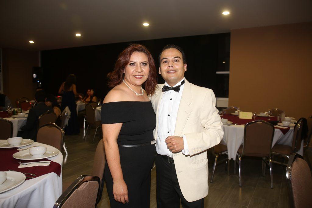 Lourdes García y Ricardo Sánchez. Fotos: Daniela Portillo