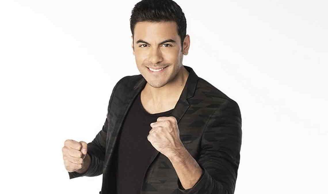 """Carlos Rivera participará en el programa español """"Tu cara me suena"""""""