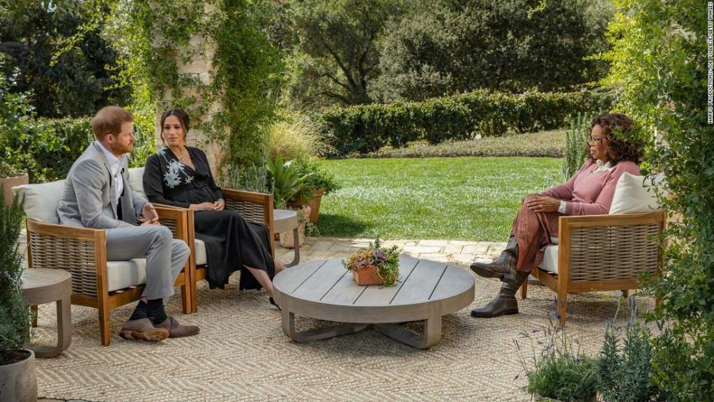 Oprah entrevista a Harry y Meghan y el mundo espera una bomba televisiva