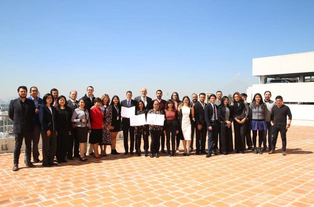 Firma de acuerdo entre Fundación ExE y el gobierno de Nicaragua