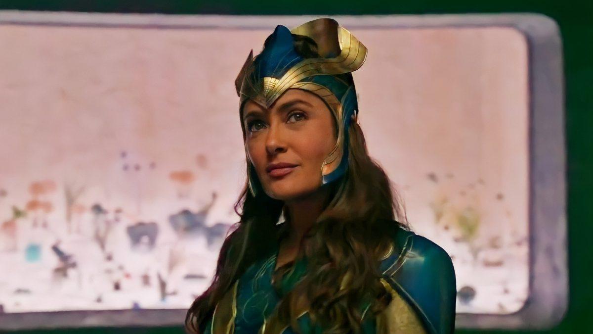 Marvel lanza tráiler de su película con Salma Hayek y Angelina Jolie