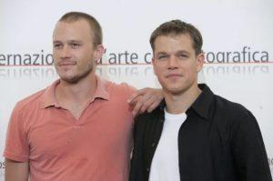 Matt Damon y Heath Ledger